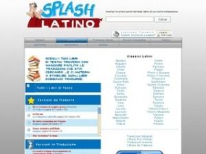 Splash Latino: Tradurre le Versioni da Latino in Italiano