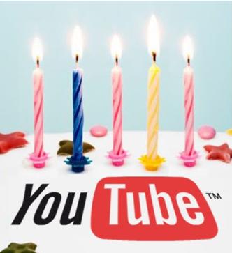 Fai gli Auguri di buon Compleanno con i video di Youtube