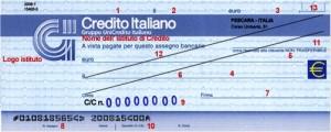 Come Compilare un Assegno Bancario o Postale