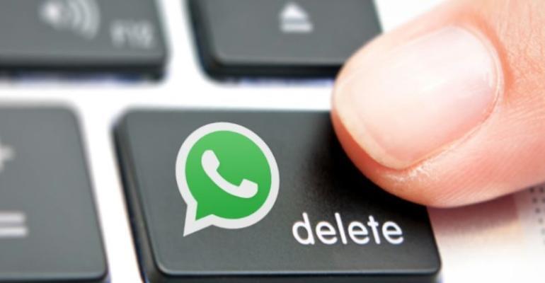 cancellare messaggio whatsapp
