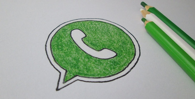 come disegnare su foto whatsapp