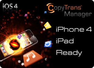 CopyTrans Manager in italiano, sostituto di iTunes per iPhone