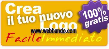 Tool per la creazione di loghi gratis online webbando for Crea il tuo sito web personale