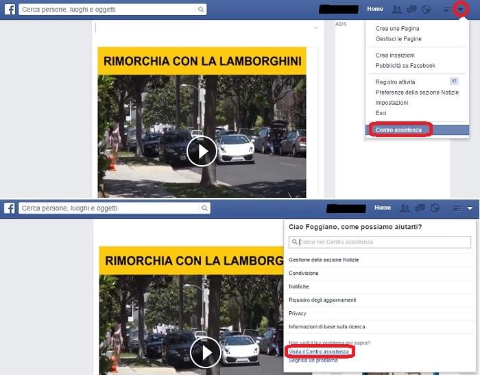 facebook-centro-assistenza