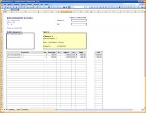 Fattura Excel