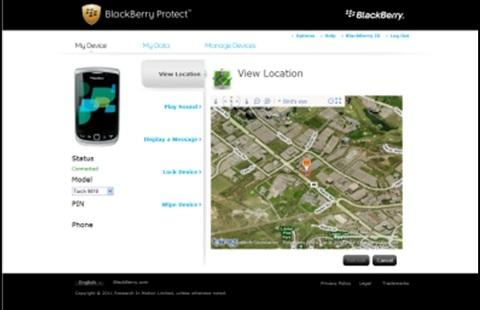 localizzare-cellulare-blackberry