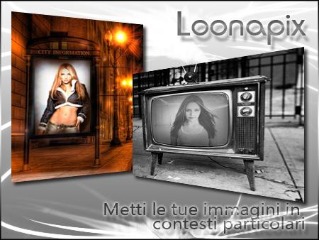 LoonaPix: modifica le tue Foto con Cornici e Fotomontaggi