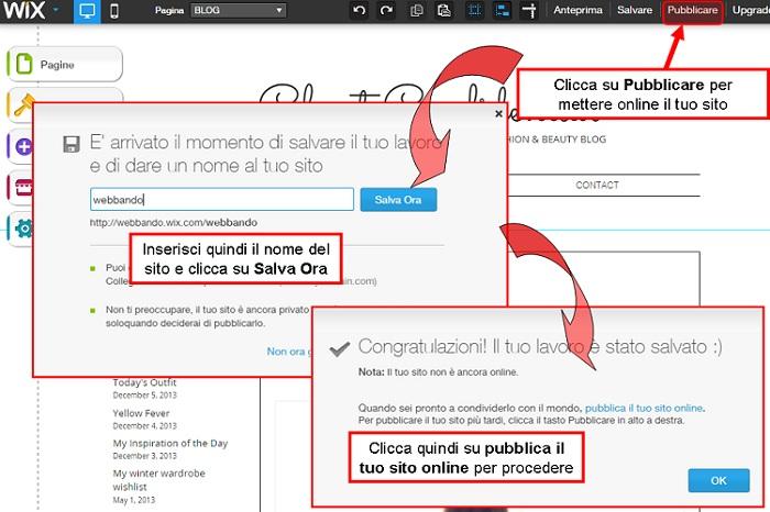 pubblicare-sito-winx