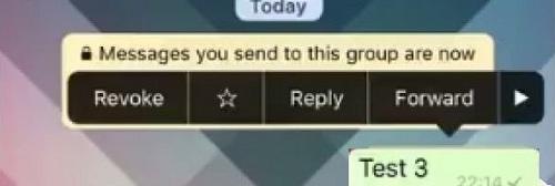 revoke messaggio whatsapp