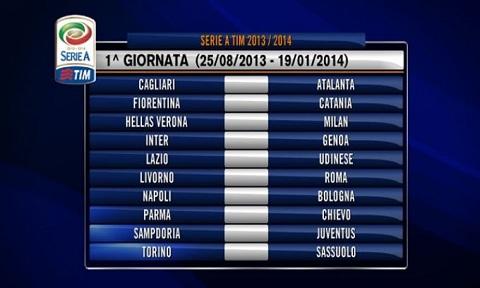 Scarica Calendario Serie A 2013 2014 in formato PDF da Stampare
